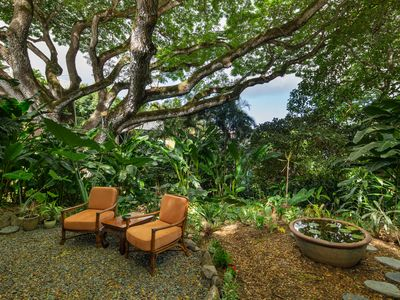 Photo for New Listing - Bay View  Hilltop Garden Retreat
