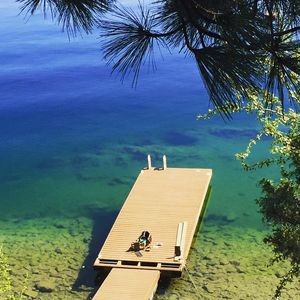 Photo for Gorgeous Cottage on Okanagan Lake with boat lift
