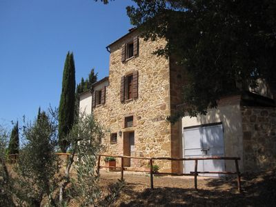 Photo for Villa Mulinello, secluded in the countryside, panorama over Montepulciano valley