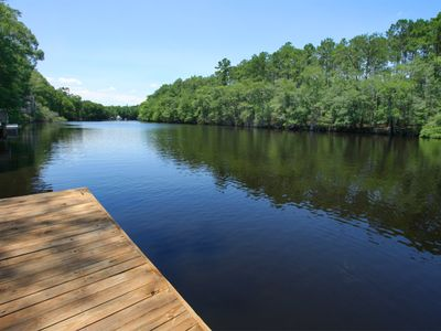 Photo for Enjoy The Scenic Waccamaw River From Your Dock And Porches!