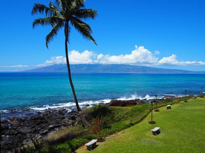 Such a gorgeous view from your private lanai. Relax and enjoy the beauty of Maui