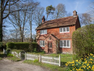 Photo for A cosy country Cottage with private garden & lovely views in a private estate