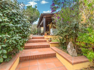 Photo for Cosy Holiday Home Casa Vacanza Monte Petrosu with Air Conditioning & Terraces; Parking Available, Pets Allowed