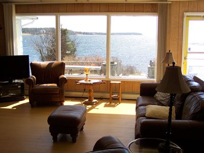 Photo for SUMMER almost fully booked OCEANFRONT FIRESIDE-YEAR ROUND
