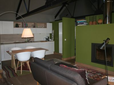 Photo for A Loft apartment in an old renovated house in the countryside near Namur