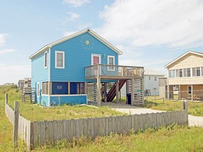 Photo for OCEANSIDE BEACH COTTAGE WITH DIRECT BEACH ACCESS & GREAT VIEWS- PET FRIENDLY!