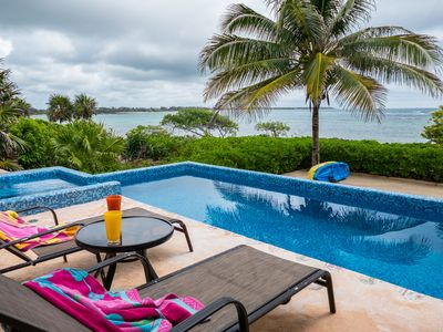 Photo for Magnificent private Oceanfront villa, Pool Overlooking the Ocean!