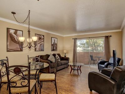 Photo for 2 Bedroom - Middle of Oldtown Scottsdale ❤️ Walk to Everything-Heated Pool-Spa-BBQ-Gated Complex.