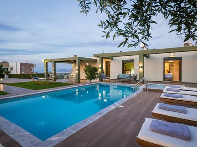 Photo for Mythic Grove Villa,  Private  Heated Pool-Garden-Amazing exteriors!