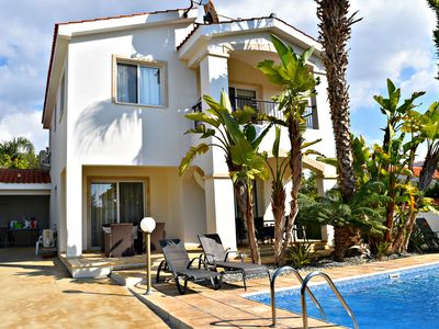 Photo for Coral Bay - 3 Bed Villa 300m to Blue Flag Coral Bay Beach - Private Pool - Wifi