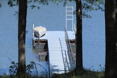 Swim off the Dock at 091R or take out the Canoe