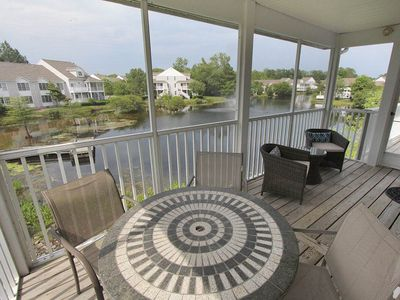 Photo for 5383U: 2BR+den+loft Sea Colony West condo! Private beach, pools, tennis ...