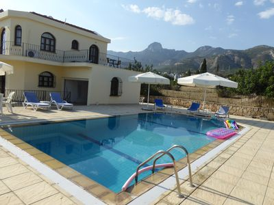 LUXURIOUS VILLA WITH SPECTACULAR MOUNTAIN & SEA VIEWS WITH THE  LATEST WIFI