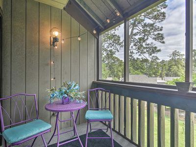 Photo for Quiet Pinehurst Condo with Patio on Golf Course!