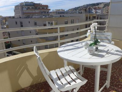 Photo for Apartment in Nice with Lift, Parking, Internet, Washing machine (315374)