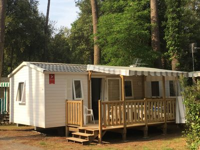 Photo for rental mobile home new, 3 Ch, camping 4 *, EXCEPTIONAL RATES