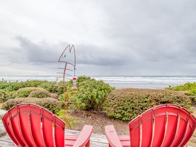 Photo for Oceanfront Home in Private Neighborhood with Walls of Windows for Ocean Views