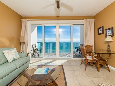 Photo for Welcoming 12th-Floor Condo In Perdido Key! Pool, Exercise Room, Beach Chairs!