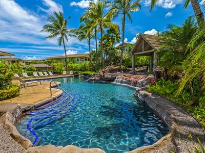 Photo for Leilani Villa - Central AC included in Nightly Rate! Great for Families!  Complex Pool and Hot Tub
