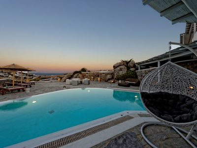Photo for Villa Amelia  Mykonos, 5 Bedroom Villa with Minimal Design up to 10 Guests. Ideal for families with young children.