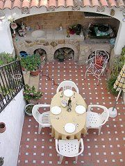 Courtyard and bbq