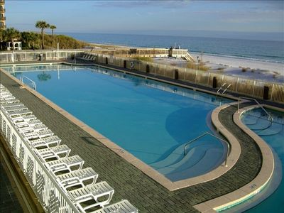 Waters Edge has one of the island's largest pools ~ 5,000 sq feet!