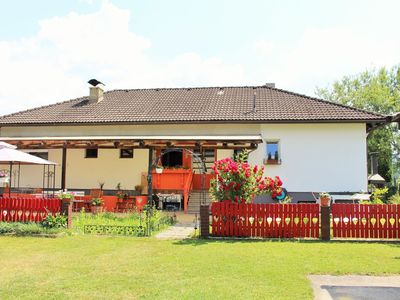 Photo for Nice holiday home close to the Kloppeinersee and Turnersee, very animal friendly