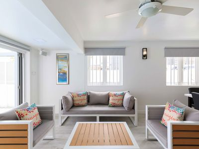 Photo for Imagine Villa- newly remodeled  beachfront 4 bed with Penthouse