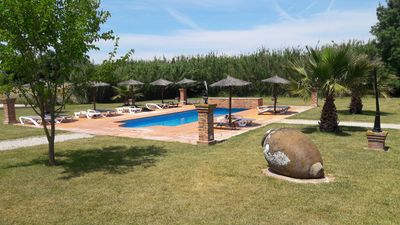 Photo for House overlooking the pool, ideal for families.