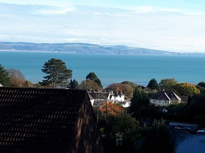 Photo for The Penthouse, Norton, Mumbles. A luxury apartment with panoramic sea views.