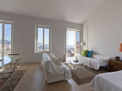 Photo for Superb Loft Cannes with sea view and balcony !!!