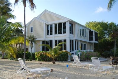 Beautiful 3 Bedroom House located only a few steps from the Caribbean waters..