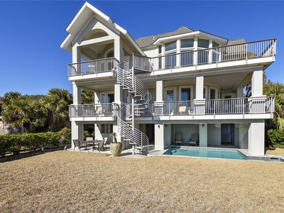 Photo for Beautiful OCEAN FRONT 6 Bedroom 5.5 bath Home located in North Forest beach on H