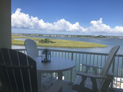 Photo for New to VRBO Luxury Condo With Panoramic Waterfront View