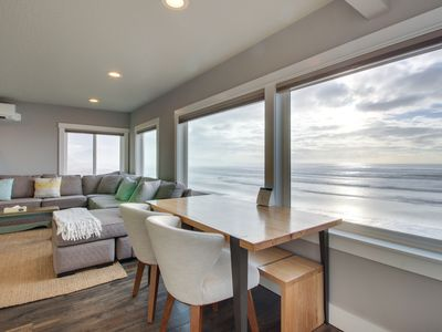 Photo for Stunning and redesigned oceanfront condo - dog-friendly, too!