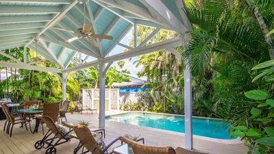Photo for << CASA FELIZ @ THE SEAPORT >> Lush Home & Pool / Near Duval + LAST KEY SERVICES...