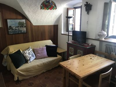Photo for 1BR Apartment Vacation Rental in Palleusieux, Valle d'Aosta