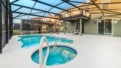 """Photo for """"Rent Your Dream Orlando Villa and Look Forward to Relaxing Beside Your Private Pool"""""""
