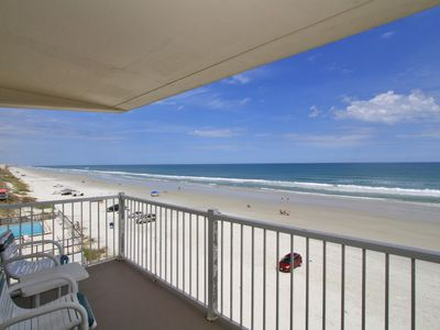 Photo for PT501 Ponce de Leon Towers. Oceanfront 3 bedroom, 2 bathroom ground floor unit.
