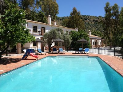 Converted stables with pool Padre Aviles