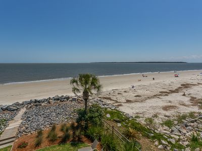 Photo for Wonderful Ocean Front Condo Right on the Beach with Fantastic Views