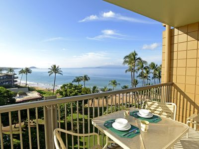 Photo for 2 Bd 2 Bath Oceanfront Condo On Keawakapu Beach - On Sale Now!