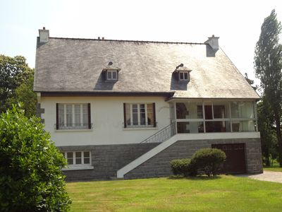 Photo for *** Large family home located in a fenced and wooded 5 minutes from the sea