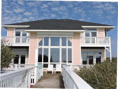 Photo for Oceanfront 6 Bedroom Home with an Amazing Ocean View! Centrally Located in Emerald Isle, NC!