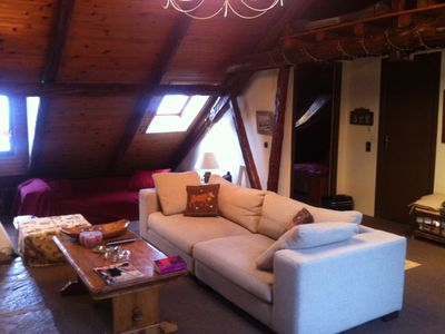 Photo for Charming apartment in village house for 10 people