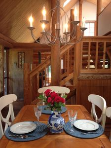 Photo for Lakefront Log-Cabin Retreat