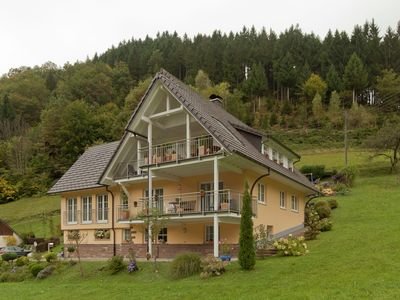 Photo for Beautiful apartment in the heart of the Black Forest with private balcony