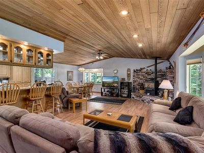 Photo for Spacious Tahoe Home with Large Fenced Backyard and Private Hot Tub