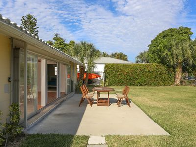 Photo for 2 bedroom, 2 bathroom canal front home with a spacious backyard! Longboat Key 37
