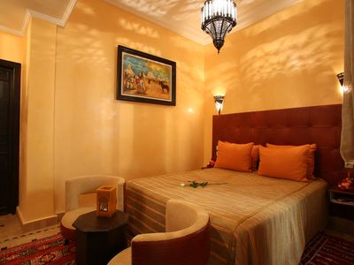 Photo for Superior Double Room & Breakfast In The Heart Of The Medina of Marrakech